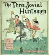 The Three Jovial Huntsmen, Front Cover (Routledge edition). Click to enlarge.