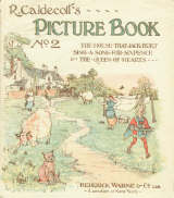 Dust-jacket of Warne miniature ed of Picture Book No 2, Click to enlarge (121 kB)